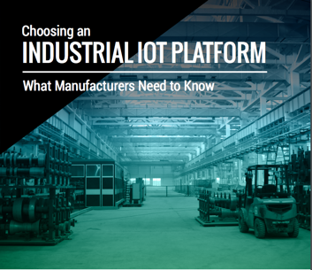 White paper detailing the best Industrial IoT platform for manufacturers.